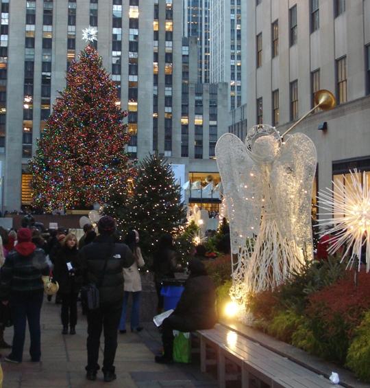 Rockefeller Center Holiday Decorations
