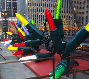Rockefeller Center Holiday Decorations