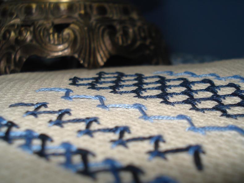 Chevron Stitch Embroidery Designs