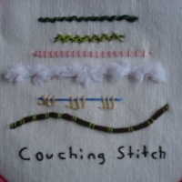 Week 9 TAST Couching Stitch