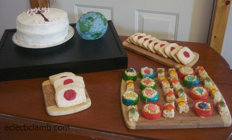Japanese Birthday Party Menu Image Inspiration of Cake and
