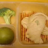 1 Partridge in a Pear Tree Bento