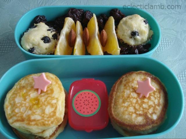 Pancake-Breakfast-Bento
