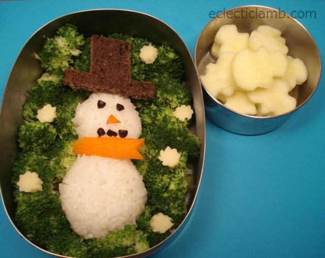 Snowman-Bento