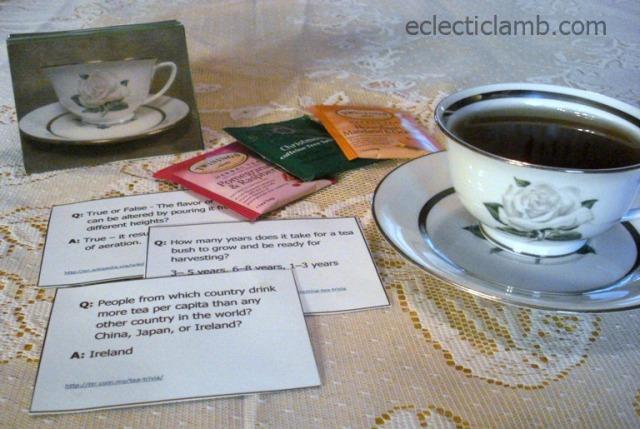 Tea Trivia Game