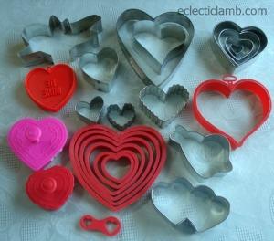 Heart Valentine Cookie Cutters