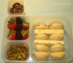 Bagel and Cheese Bento