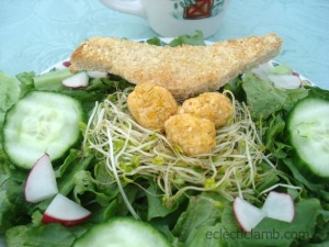 Bird in Nest Salad