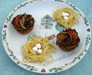 Potato and Spaghetti Nests