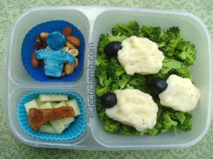 Little Boy Blue Sheep Lunch
