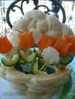 May Day edible basket