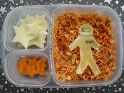 Astronaut Pasta Lunch
