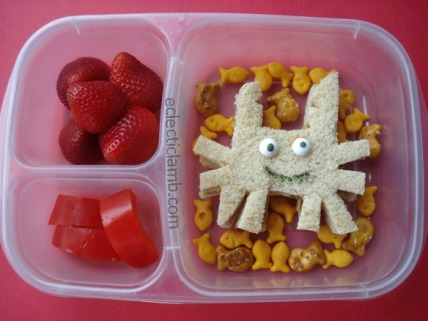 Crab Themed Lunch