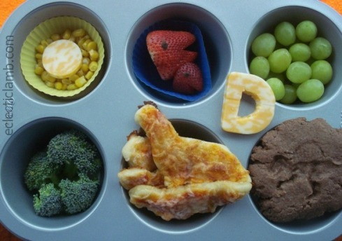 Muffin Tin Monday Dinosaur