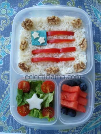Flag Day Bento