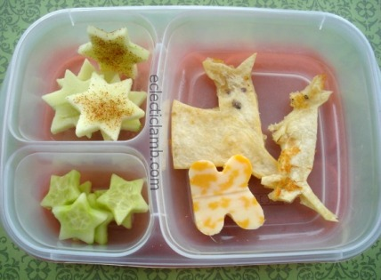Kangaroo and Joey Themed Lunch