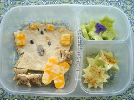 Koala and Baby Themed Lunch