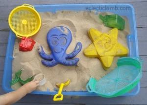 Mini Sand Box