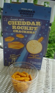 Rocket Cracker Snack