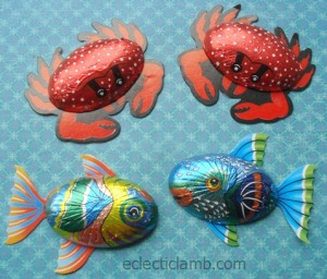 Fish and Crab Chocolates