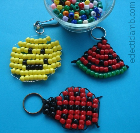 3 easy pony bead projects eclectic
