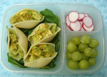 Avocado Salad Shells