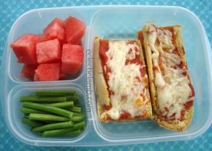 French Bread Pizza Lunch