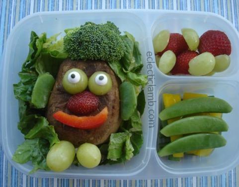 Mr Potato Head Bento