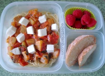 Pasta Alla Norma Lunch