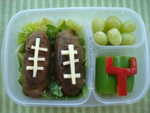 Potato Football Lunch