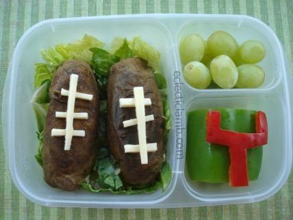 Potato Football Lunch