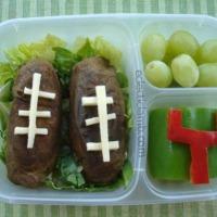 Potato Football Bento