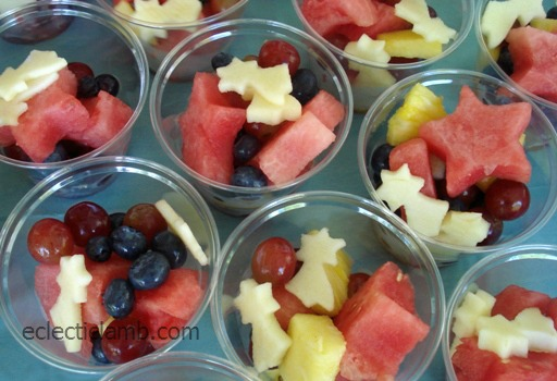 Tanabata Fruit Cups