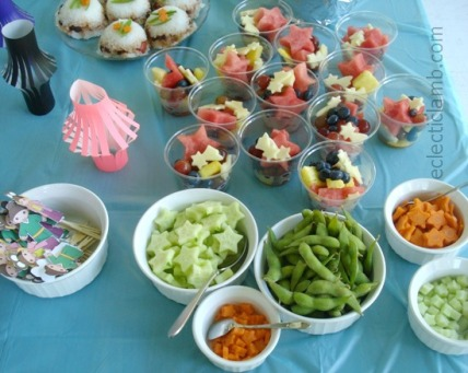 Tanabata Party Food