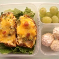 Twice Baked Potato Lunch