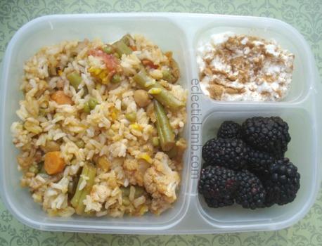 Vegetable Biryani Lunch