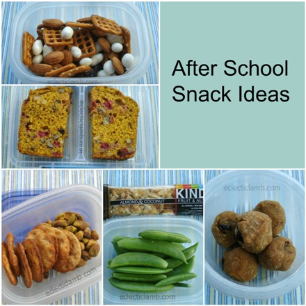 After School Snack Ideas - Here are tips for packing food for active teens on the go. Healthy after school snack ideas are included too. These have been tested and approved by teens.