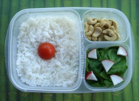 Japanese Flag Lunch