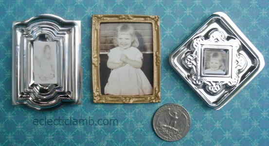 DIY Miniatures Frames and Pie | Eclectic Lamb