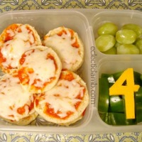 Back to School Bagel Pizza Lunch