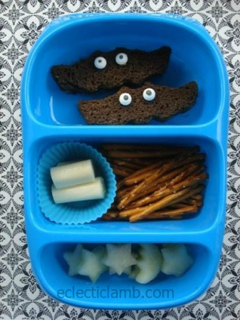 Bat themed lunch