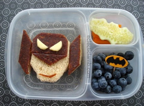 Batman themed lunch