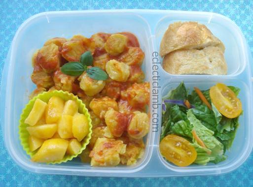 Pumpkin Potato Gnocchi Lunch