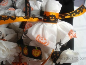 Close up of Halloween Treats