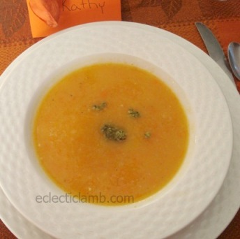 Leek Potato Carrot Soup