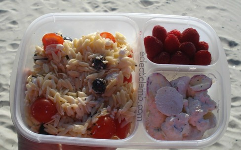 Lunch on Beach