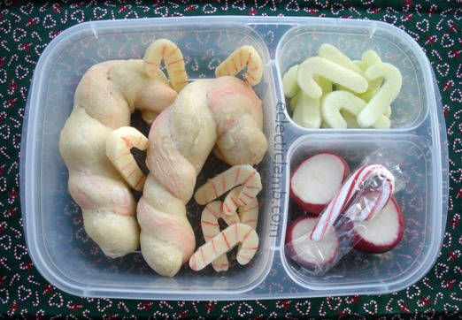 Candy Cane Themed Lunch