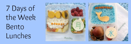 Days of the Week Lunch Collage