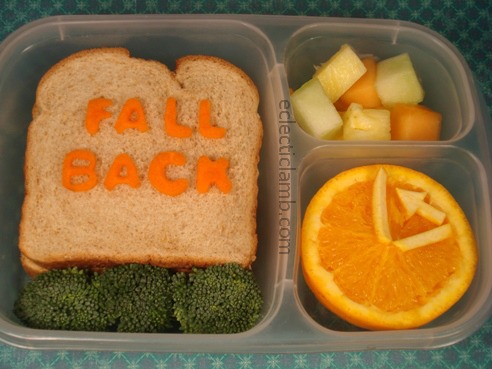 Fall Back Daylight Standard Time Lunch
