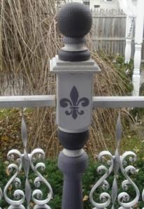 Fleur-de-lis Porch